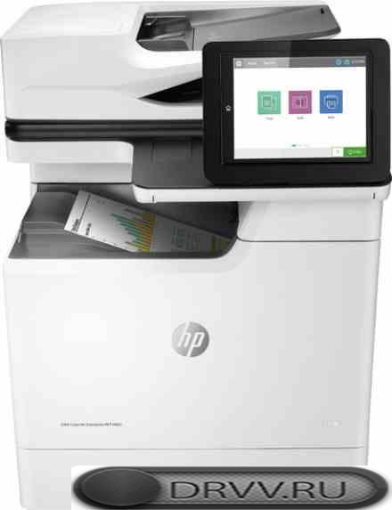 Принтер HP LaserJet Enterprise M681dh J8A10A